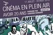Hommage à la jeunesse au cinéma plein air de la Villette