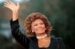 Sophia Loren devant la cam�ra de son fils