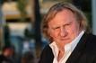 G�rard Depardieu en tournage � Paris