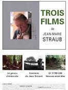 Trois films de Jean-Marie Straub