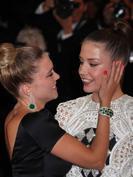 Cannes 2013 : L�a Seydoux et Ad�le Exarchopoulos hyper complices