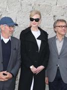 Cannes 2013 : Pause d�jeuner pour Steven Spielberg et son Jury