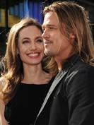 Brad Pitt au bras d'Angelina Jolie pour écouter Muse