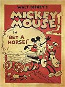 Mickey à Cheval