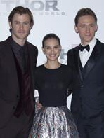 � Londres comme � Paris, Natalie Portman et l'�quipe de Thor s'�clatent