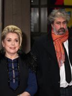 Berlin 2014 : Catherine Deneuve et Gustave Kervern sont Dans la Cour