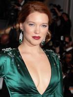 Cannes 2014 : L�a Seydoux et Gaspard Ulliel glamours pour Saint Laurent