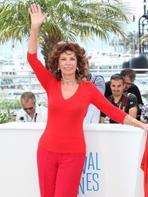 Cannes 2014 : Sophia Loren, star de la croisette !