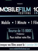 Mobile Film Festival : Tentez votre chance pour les 10 ans !
