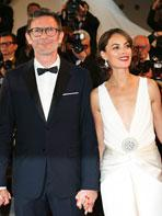 Cannes 2017 : Michel Hazanavicius et son équipe montent les marches pour Le Redoutable
