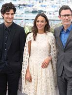 Cannes 2017 : photocall pour l'équipe du Redoutable