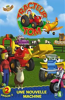 Tracteur tom saison 2 volume 2 une nouvelle machine - Jeux de tracteur tom ...