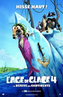 L'�ge de glace 4 : la d�rive des continents