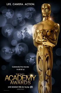 84ème Cérémonie des Oscars 2012