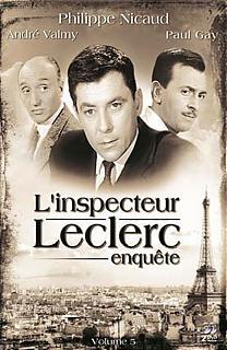 L'Inspecteur Leclerc Enquête - Vol.5