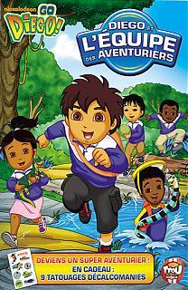 Diego et l'équipe des aventuriers