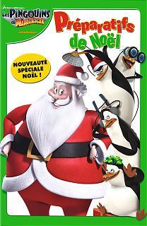 Les pingouins de Madagascar - Préparatifs de Noël