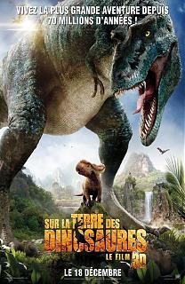 Sur la terre des dinosaures 3D