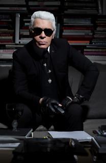 Karl Lagerfeld à Contretemps