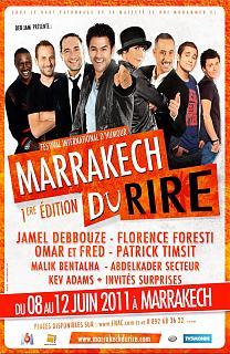Jamel au Marrackech du Rire