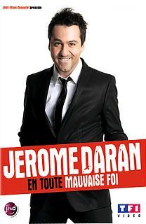 Jérôme Daran, en toute mauvaise fois