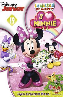 La maison de Mickey : j'aime Minnie