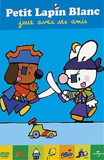 Petit lapin blanc joue avec ses amis - Vol.1