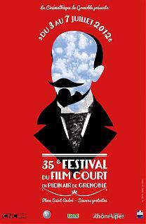35ème Festival du court métrage en plein air de Grenoble 2012