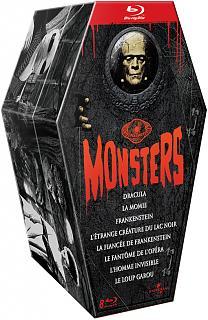 Coffret Universal Classic Monsters