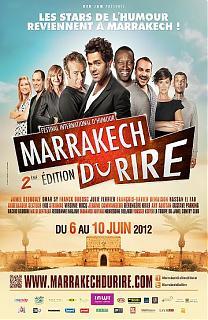 Jamel au Marrackech du Rire 2012