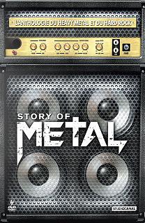 Story of Metal - L'Anthologie du Heavy Metal et du Hard Rock (Coffret 4 DVD)