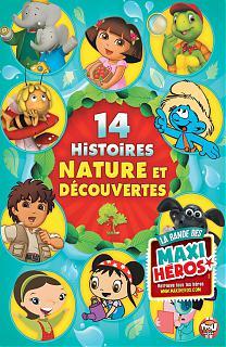 14 histoires nature et découverte