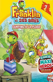 Franklin et ses amis - Camping à la plage