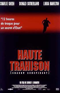 Haute trahison film 1996 policier for Haute trahison