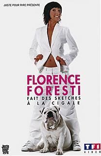 Florence Foresti fait des sketches a la Cigale