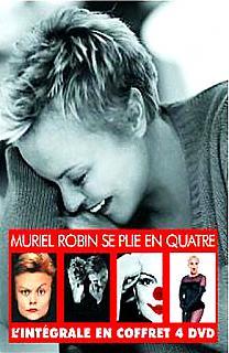 Muriel Robin se plie en quatre