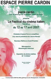1er Festival du cinéma Italien de Paris