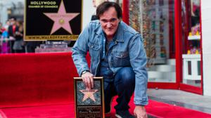 Quentin Tarantino reçoit son étoile sur le Walk of Fame !