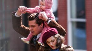 Brad Pitt et Marion Cotillard sur le tournage du prochain Zemeckis