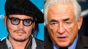 Johnny Depp dans la peau de DSK !
