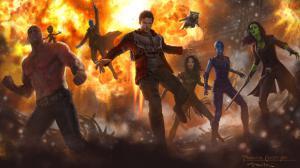 Les Gardiens de la Galaxie 2 : Un nouveau concept art excitant