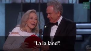 Oscars : l'incroyable bourde de Warren Beatty et Faye Dunaway (vidéo)