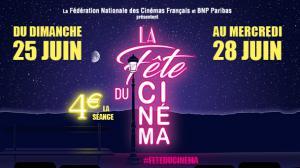 La Fête du Cinéma est de retour du 25 au 28 juin !