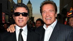 Arnold Schwarzenegger rend hommage à Stallone pour son anniversaire