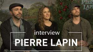Pierre Lapin : on a rencontré les voix françaises du film