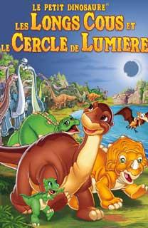 Le petit dinosaure les longs cous et le cercle de lumiere - Petit pieds dinosaure ...