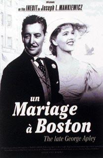 Un Mariage à Boston