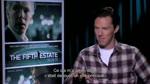 Interview de Benedict Cumberbatch : Le Cinquième Pouvoir