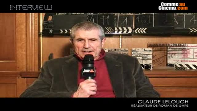 Rencontre avec Claude Lelouch ! : Roman De Gare