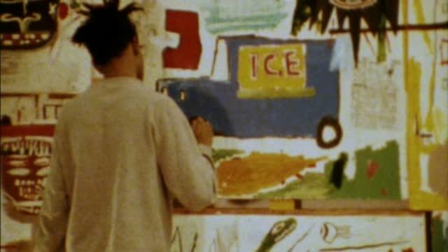Jean-Michel Basquiat : the radiant child : Harry Geller